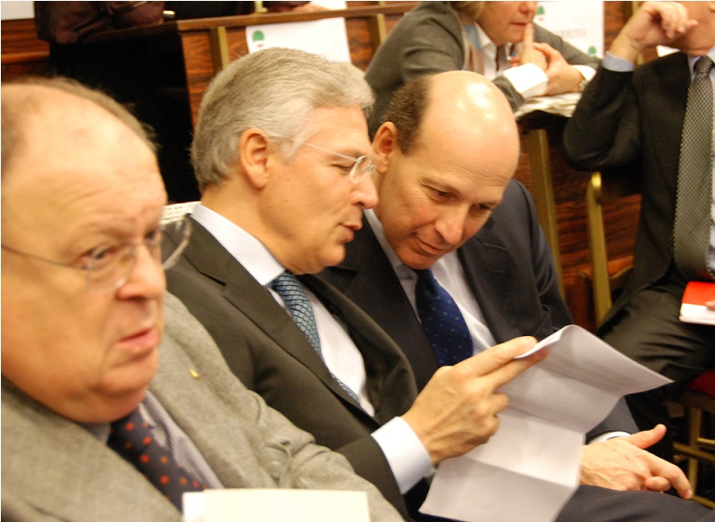 Da sinistra: Bruno Costi e Ivanhoe Lo Bello
