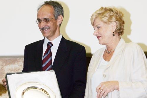 Pietro Ichino e Carol Tarantelli