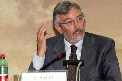 Giovanni Salvi, sostituto Procuratore presso la Procura di Roma