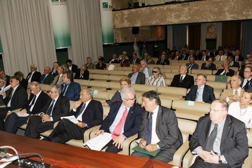 Panorama degli invitati alla Manifestazione dedicata al Premio Tarantelli 2007