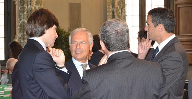Da sinistra: Giovanni Fazio, Costi, Avv. Antonio Labate
