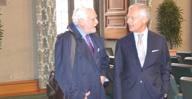 Stefano Cingolani e Bruno Costi