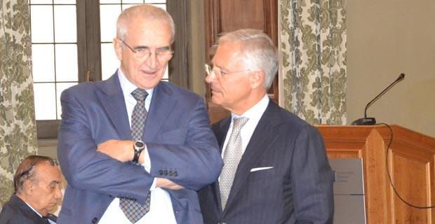 Donato Speroni e Bruno Costi
