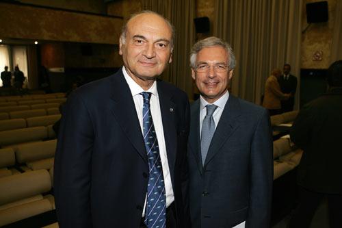 Antonio Marzano (a sinistra) e Bruno Costi