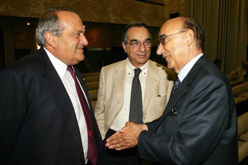 Luigi Abete (a sinistra) e Luigi Scimia