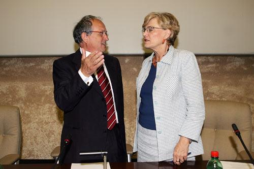 Guarguaglini e Carol Tarantelli