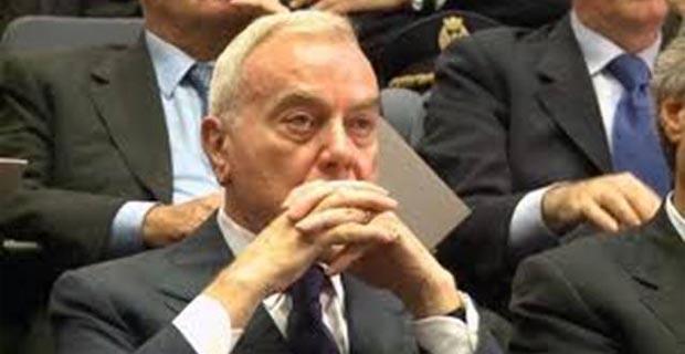 Il Vice Presidente della Fininvest Gianni Letta