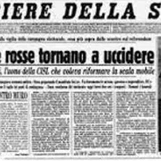 Il Club dell'Economia ricorda Ezio Tarantelli a 35 anni dalla scomparsa